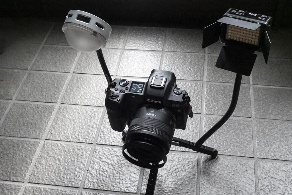 グースネックで小物撮影を便利にする:プラティポッド