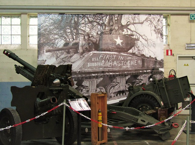 Bastogne Barracks, museum Battle of the Bulge in Bastogne