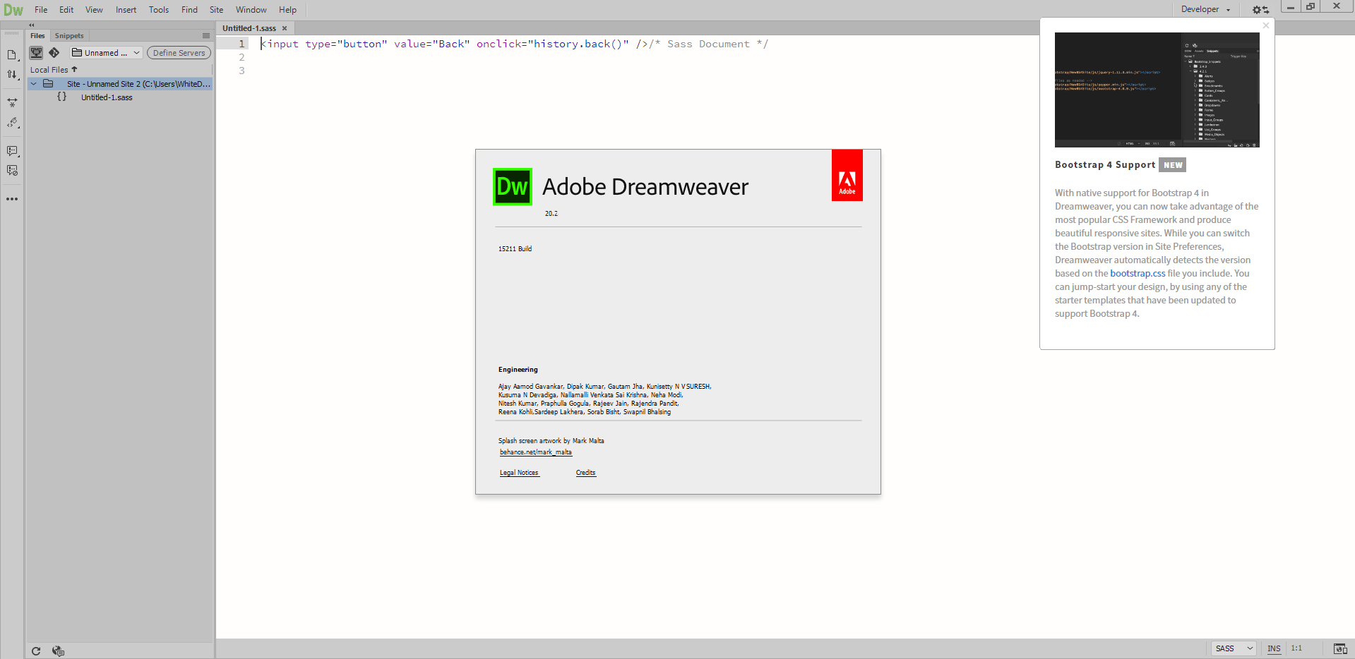 Working with Adobe Dreamweaver 2020 v20.2.0.15263 full license
