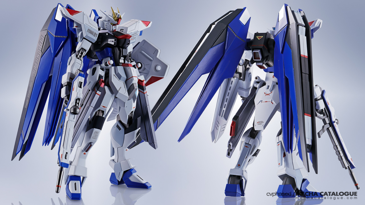 Why is This a Tamashii Web Exclusive? Metal Robot Spirits <Side MS> Freedom Gundam