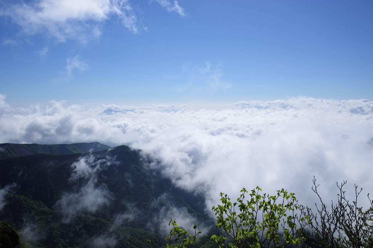 八ヶ岳登山 夏の雲海
