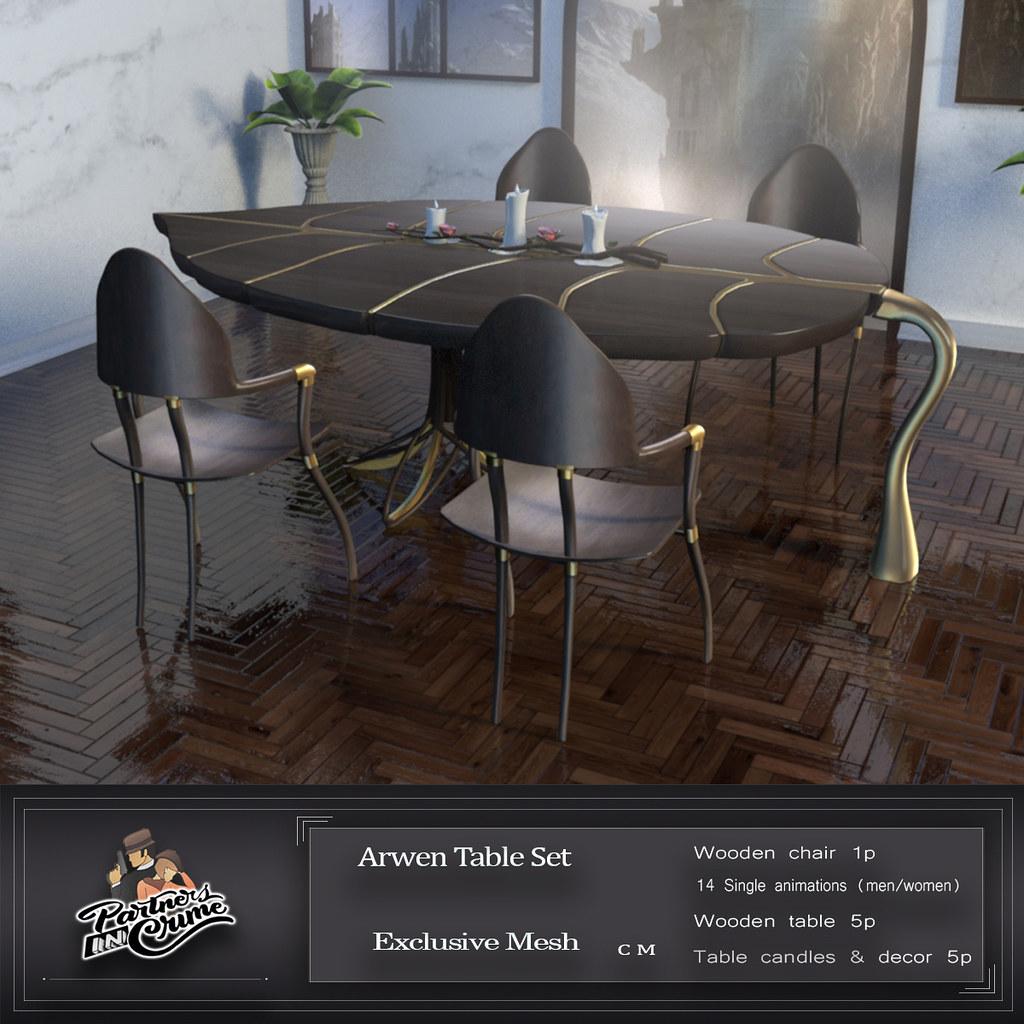 Arwen Table set new