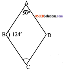 KSEEB Solutions for Class 8 Maths Chapter 15 Quadrilaterals Additional Questions 20