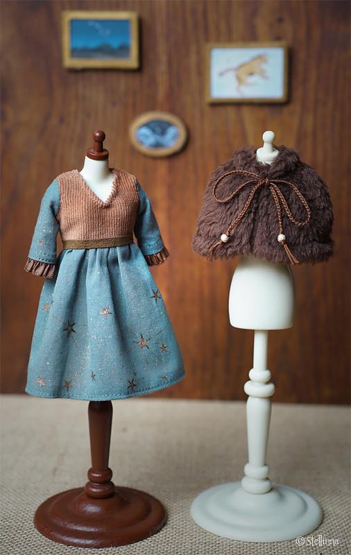 Stardust Dress & Cape