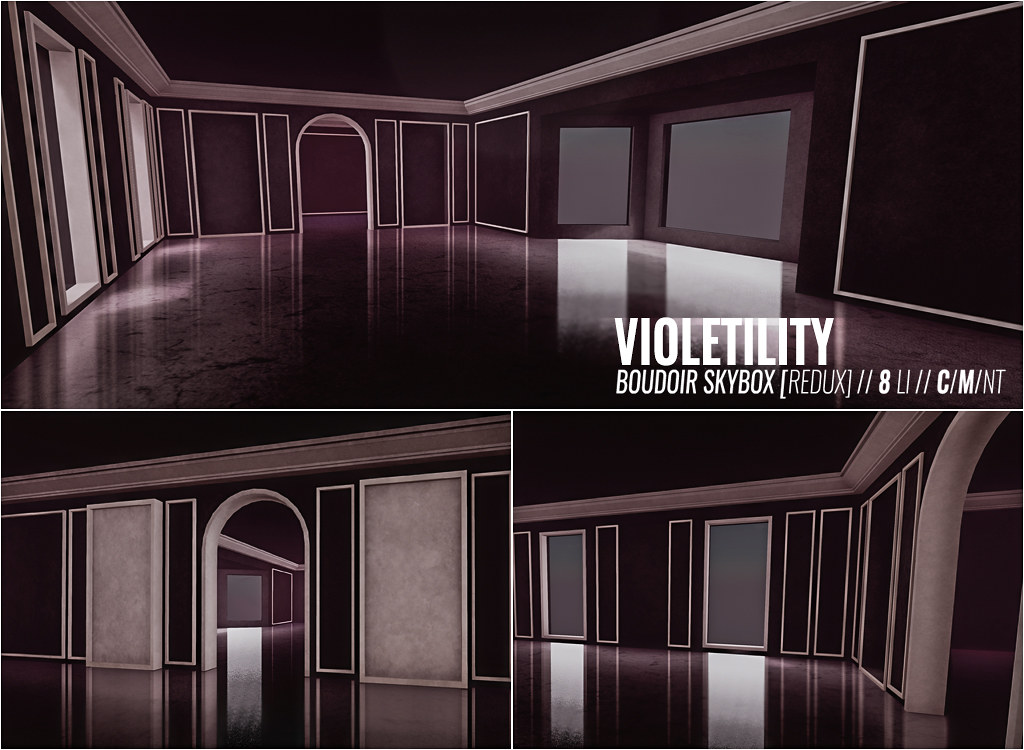 Violetility – Boudoir Skybox Redux