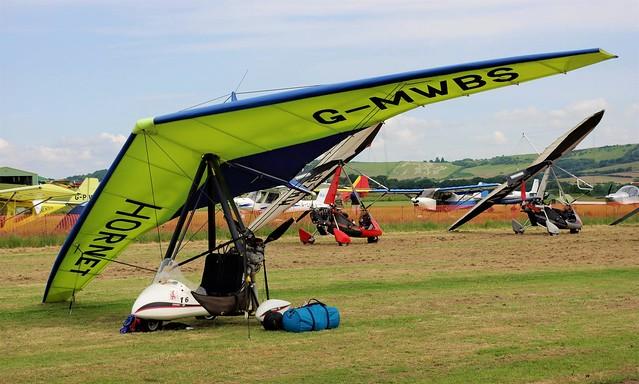 G-MWBS - Hornet R-ZA     Sandown