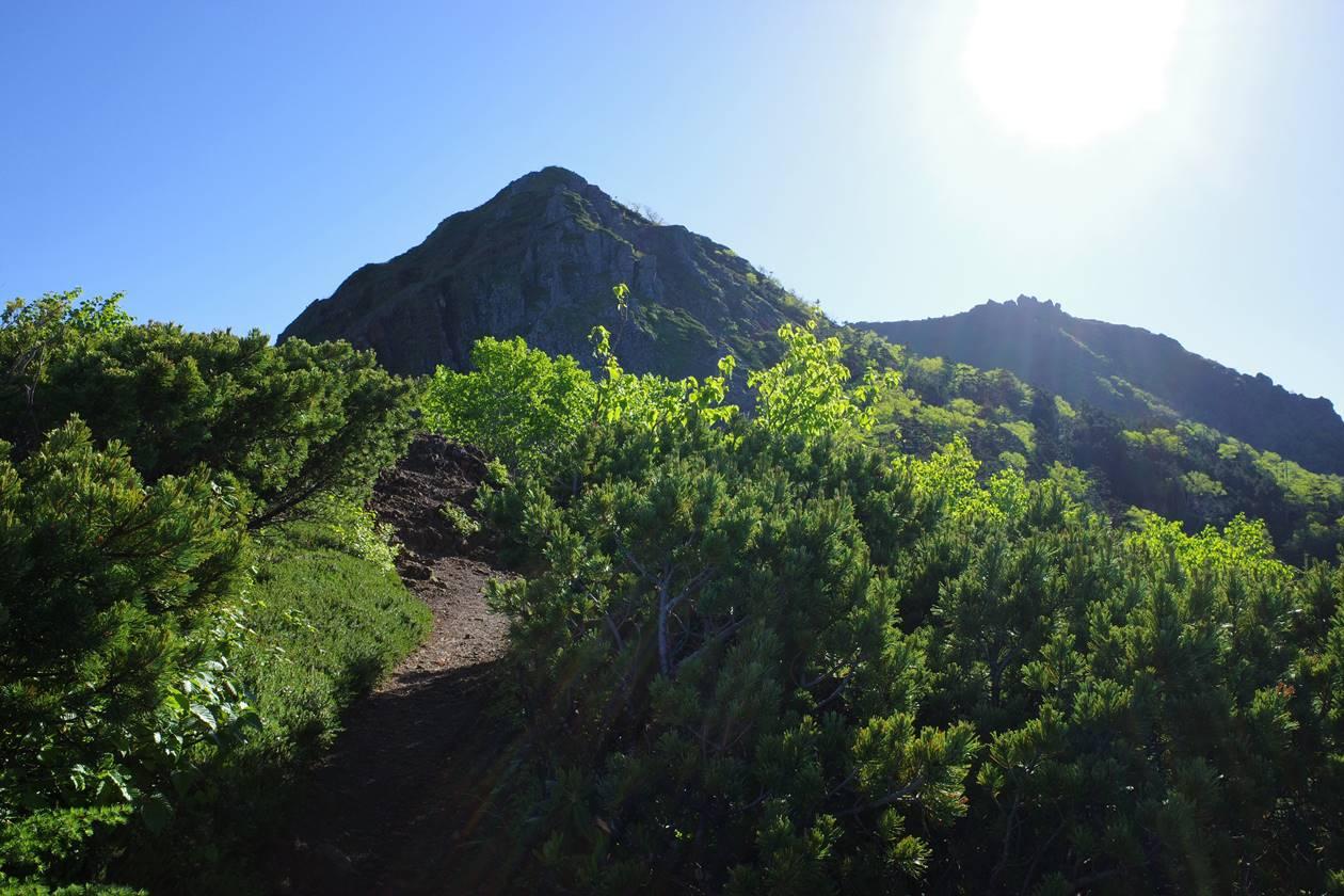 編笠山から権現岳縦走