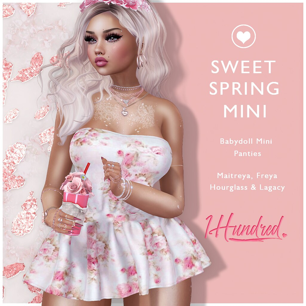 1 Hundred. Sweet Spring Mini ENERGY WEEKEND SALE