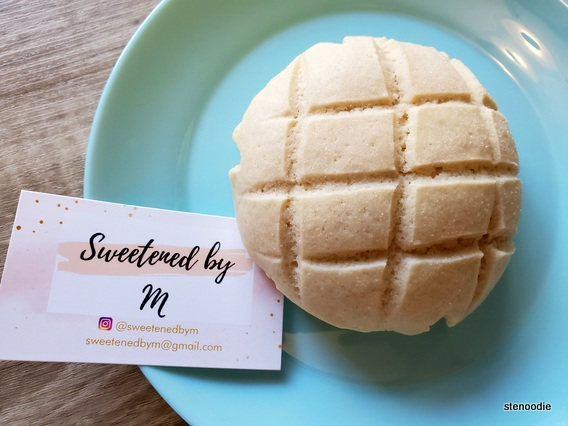 Sweetened by M Melon Bun