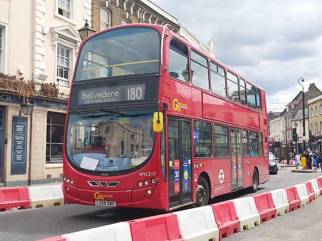 Go-Ahead London WVL317, LX59DBO - 180