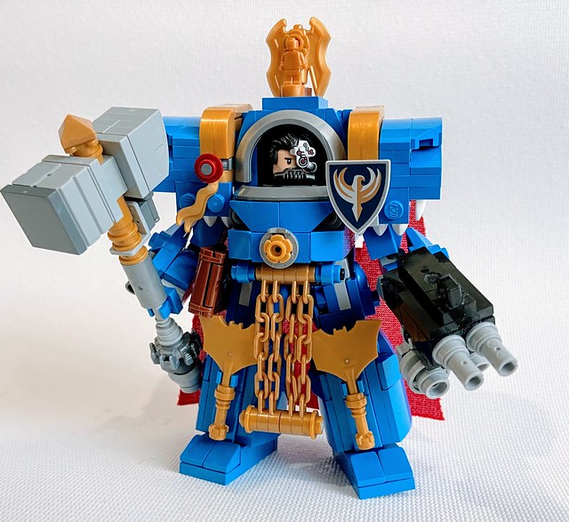 Lego Ultramarine Cataphractii Terminator Captain
