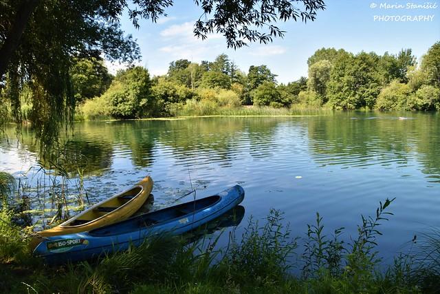 River Mrežnica, Croatia - Summer time blues...