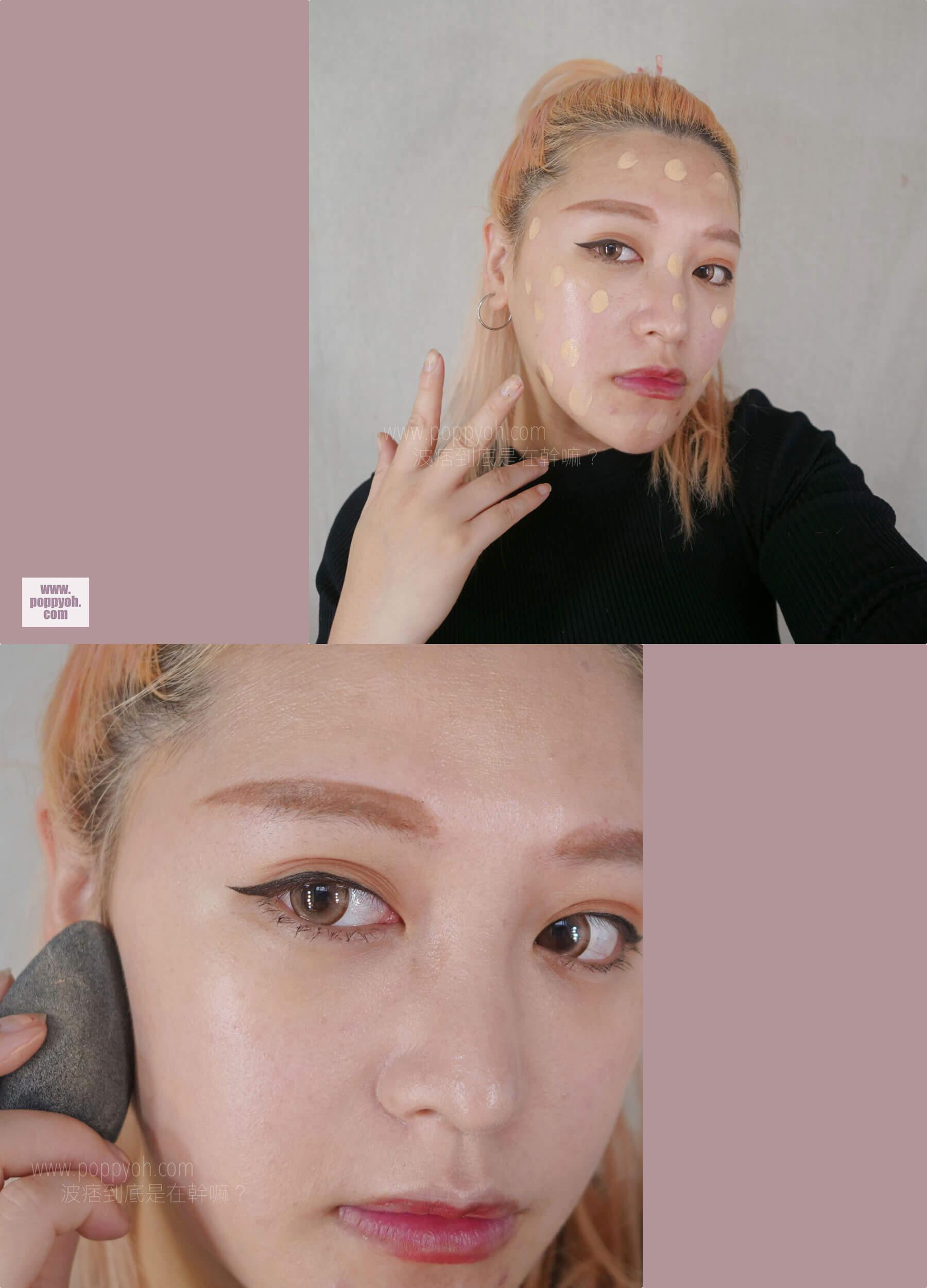 SOFINA蘇菲娜 漾緁輕妝綺肌長效粉底液進化版 妝效 妝感 持妝 控油