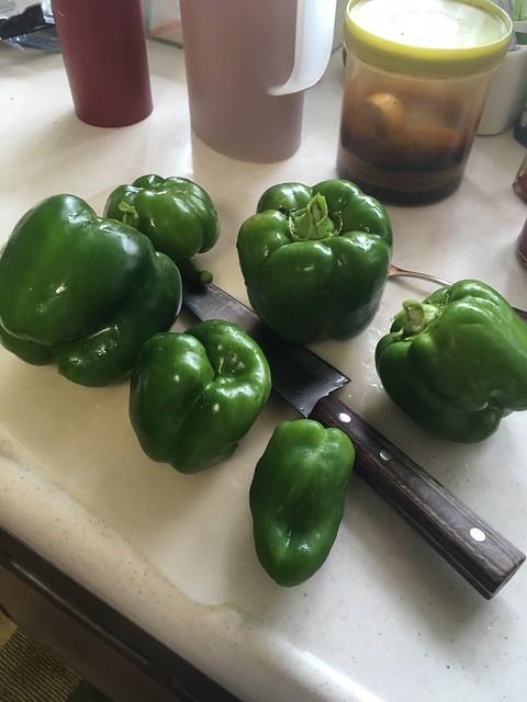 青椒肉絲と無限ピーマン