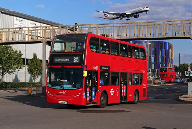 Route 285, Abellio London, 9404, LJ56VTD