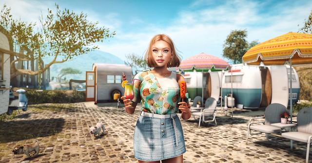 Happy camper! - #Fleur de Sel Fusion photo contest