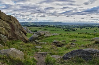 View from Almscliffe Cragg