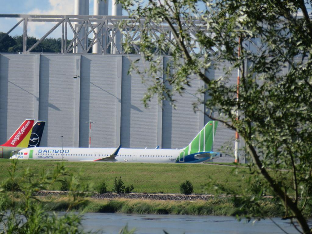 D-AZAB A21N 9539 Bamboo Airways fcs