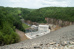 Laurel Lake dam