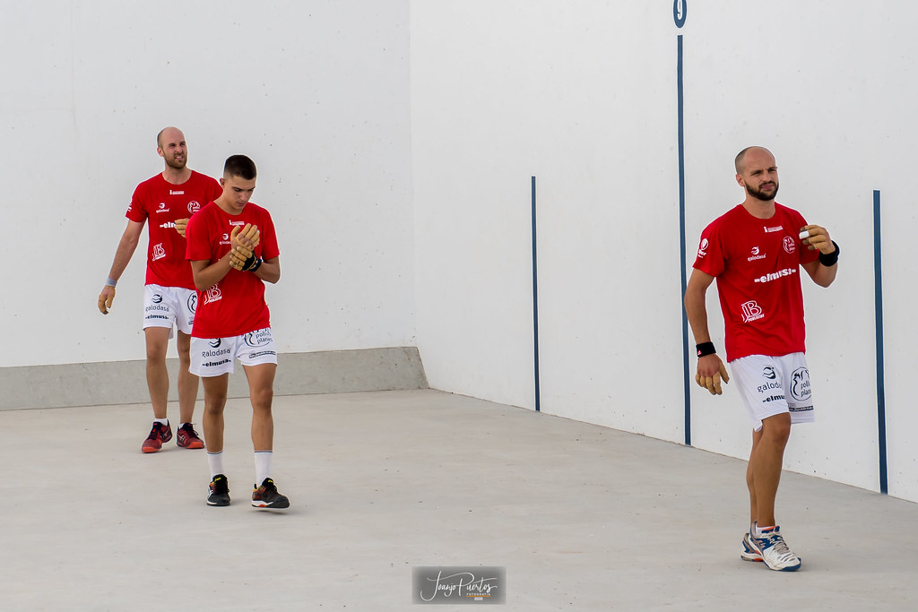 Ricard, Murcianet i Guillem. Foto: Juanjo Puertos