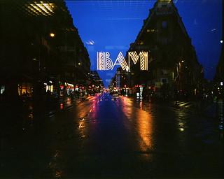 BAM again. Rue La Fayette, Paris