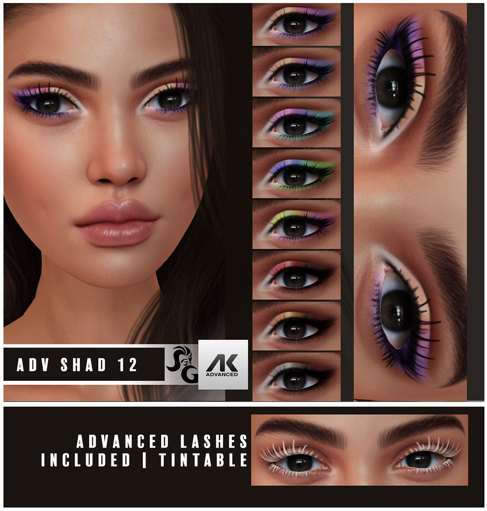 Advanced AK HD Shadow with Lashes