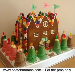Gingerbread castle.