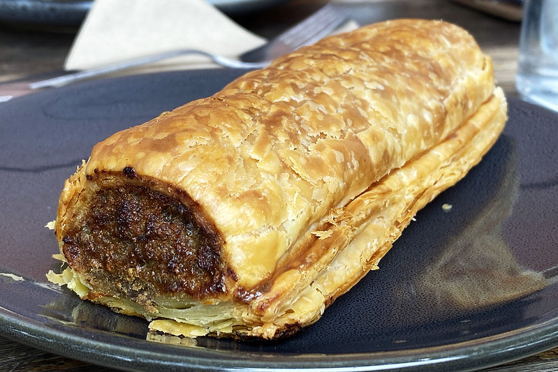Sausage roll: Stoneground Bakery