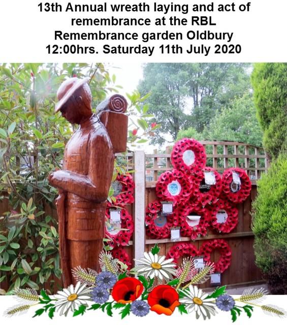 Remembrance garden 2020