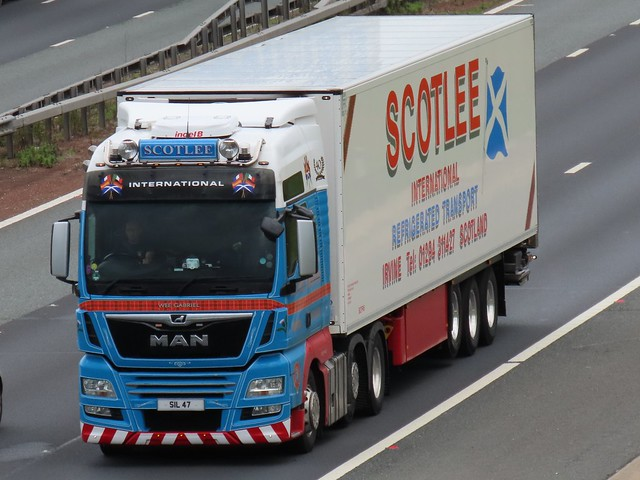 Scotlee International, M.A.N (SIL47) On The The A1M Southbound