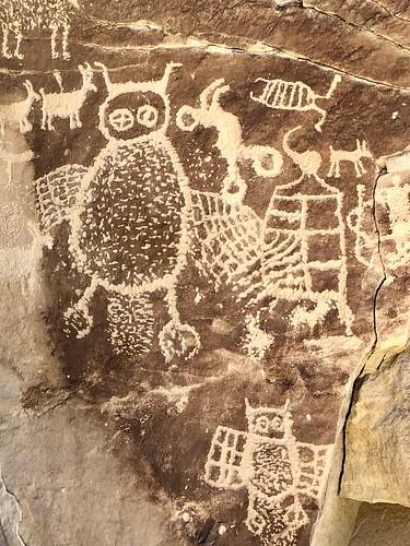 owls ninemilecanyon utah petroglyphs