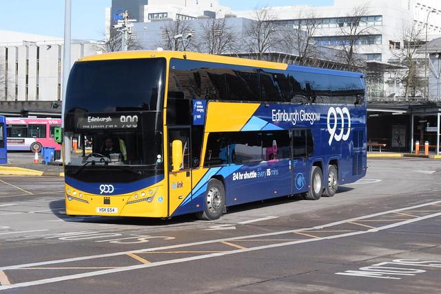 PH HSK654 @ Glasgow Buchanan Street bus station