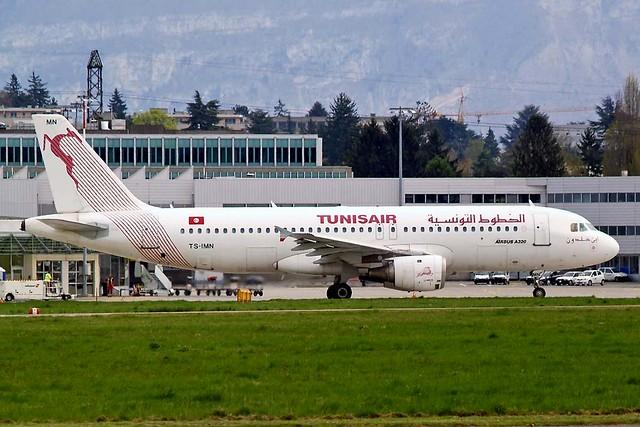 TS-IMN   Airbus A320-211 [1187] (Tunisair) Geneva Int'l (Cointrin)~HB 11//04/2009