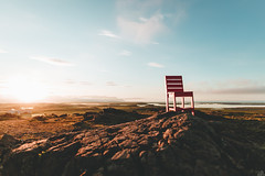 Red Chair - Iceland