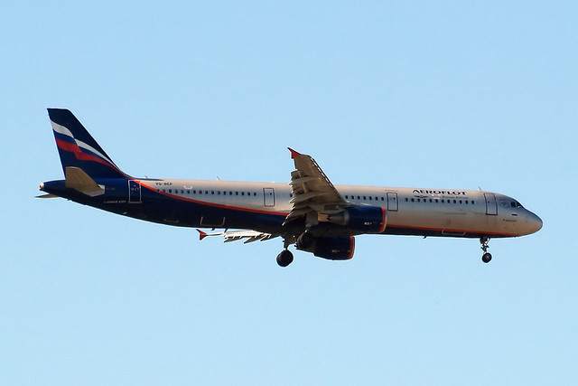 VQ-BEF   Airbus A321-211 [4103] (Aeroflot Russian Airlines) Home~G 02/06/2013