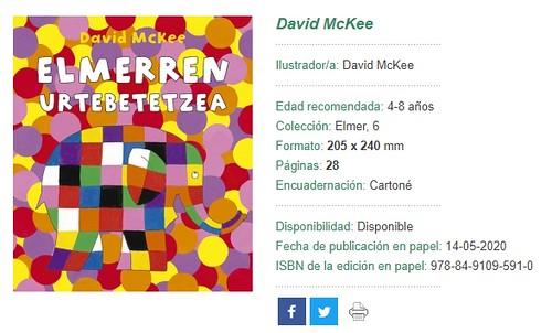 Elmerren Urtebetetzea, David McKee