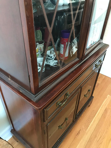 China cabinet (before) | by fishbowl_fish
