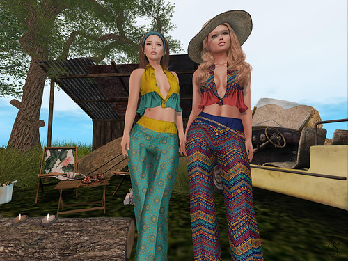 Hippie picnic | by Blogger @ Syleena Sheridan - The fashion gallery
