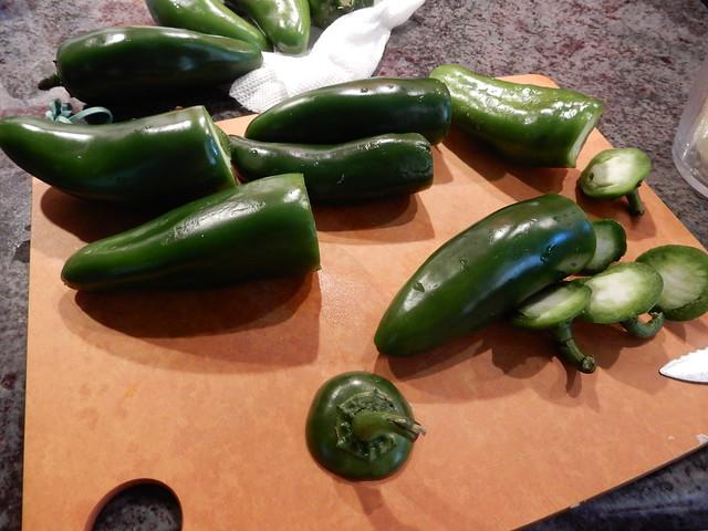 making some salsa