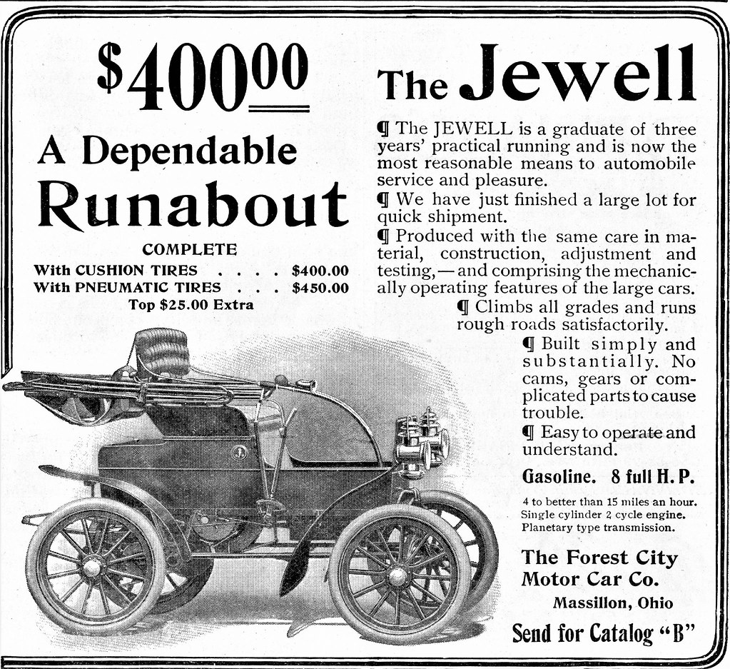1906 Jewell Runabout