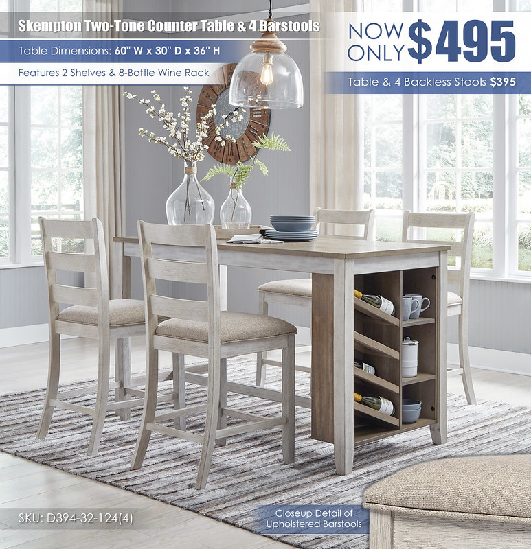 Skempton Counter Table & 4 Barstools_D394-32-124(4)