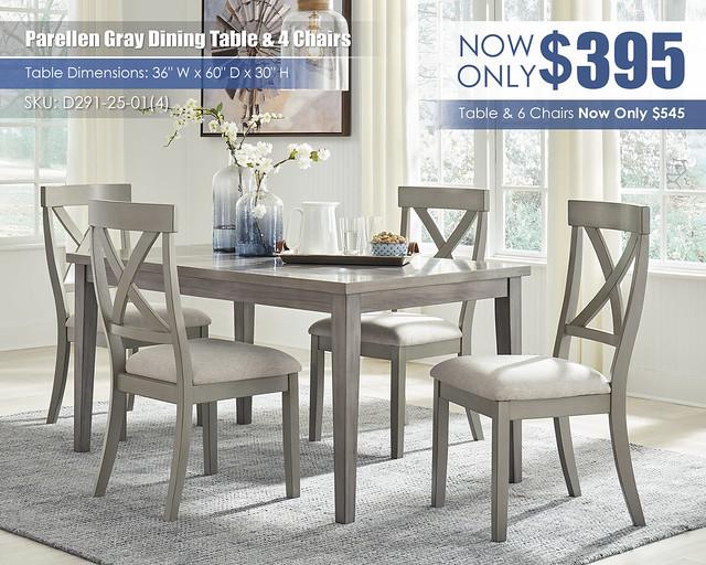 Parellen Gray Table & 4 Chairs_D291-25-01(4)
