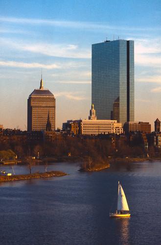 The John Hancock Buildings - Boston