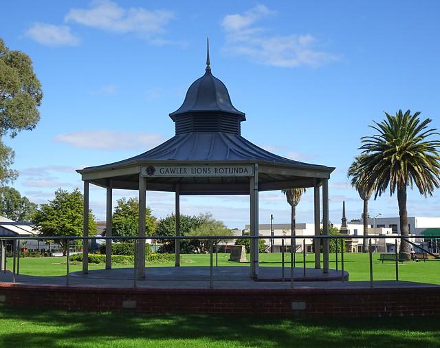 Rotunda in Gawler Park
