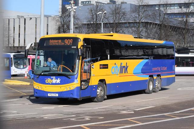 SW 54126 @ Glasgow Buchanan Street bus station