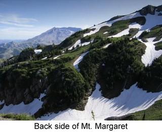 Back side of Mt Margaret.