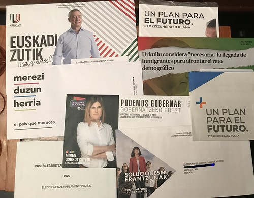12 Julio 2020: Elecciones Autonómicas Vascas,... y gallegas