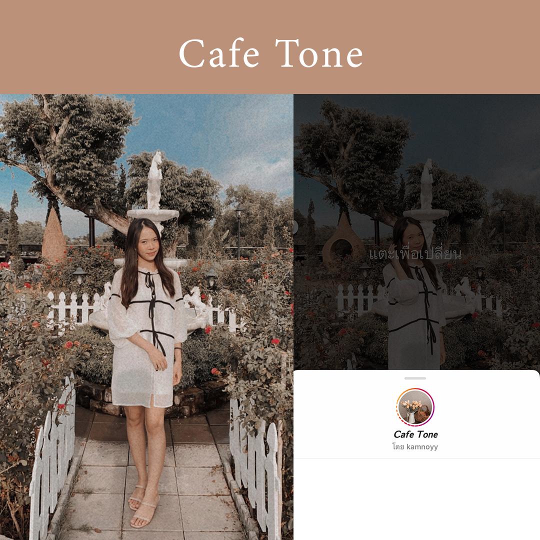IG filter cafe tone
