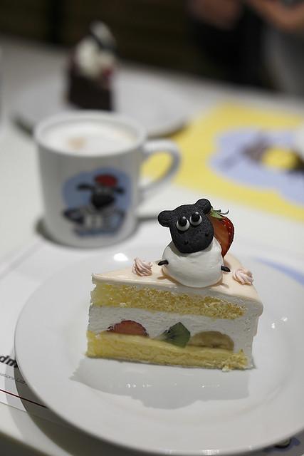 シャーリーの  フルーツショートケーキ