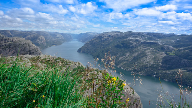The View From Pulpit Rock...